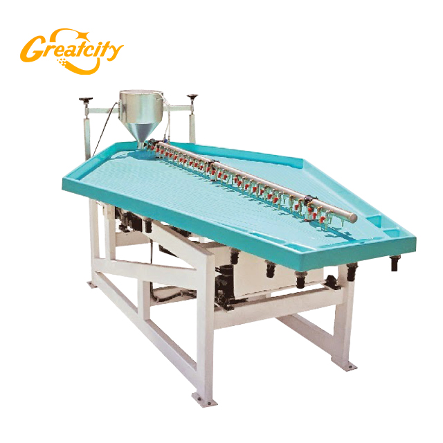 Proveedor de China Xingtai Greatcity Griavity Gold Concentration Shaking Table para la venta